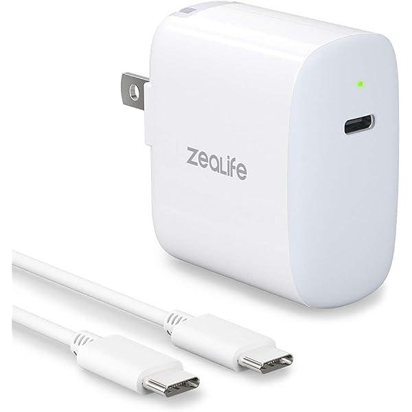 Amazon.com: 87W USB-C Power Adapter Charger, ZeaLife USB-C ...
