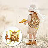 Nai-B [NEW 2018] Milistar Backpack Water Gun for Kids. Let Your Children Have Fun with High Capacity Super Soaker Squirt Gun. Enjoy Water Fight in Pool & Beach. Must Have Summer Toy. Desert Type.