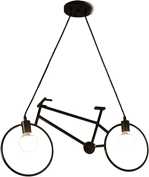 Bicicleta Ajustable Techo Araña Iluminación Para Niños Habitación ...