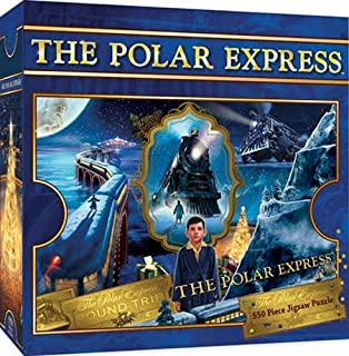 b9c244011e2 MasterPieces Polar Express 550 Piece Glitter Jigsaw Puzzle