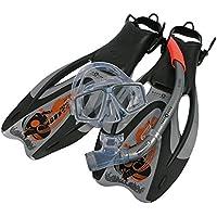 Aqua Lung Sport Proflex Pro ADJ Maske/Schnorchel und Fin Set
