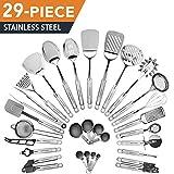 HomeHero 29-Piece stainless-steel Kitchen Utensils Set