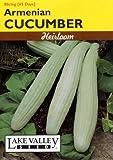 Lake Valley 115 Cucumber Armenian Heirloom Seed Packet