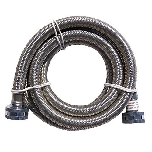 Washing Machine Flood (Flood Safe Washing Machine Connector 48 In. Stainless Steal Hose)