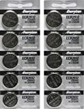 Electronics : Energizer CR2032 3 Volt Lithium Coin Battery 10 Pack (2x5 Pack) In Original Packaging