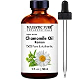Majestic Pure Roman Chamomile Essential Oil, 1 fl Oz.