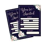 50 Fill In Invitations, Wedding Invitations, Bridal Shower Invitations, ...