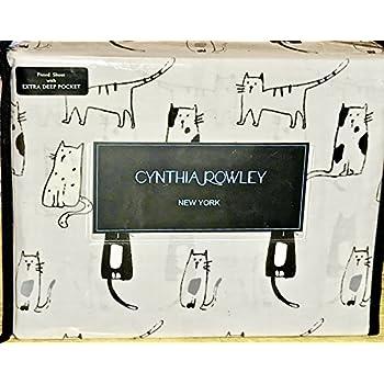 Amazon Com Cats Kitty Cats Queen Size Sheet Set Cynthia