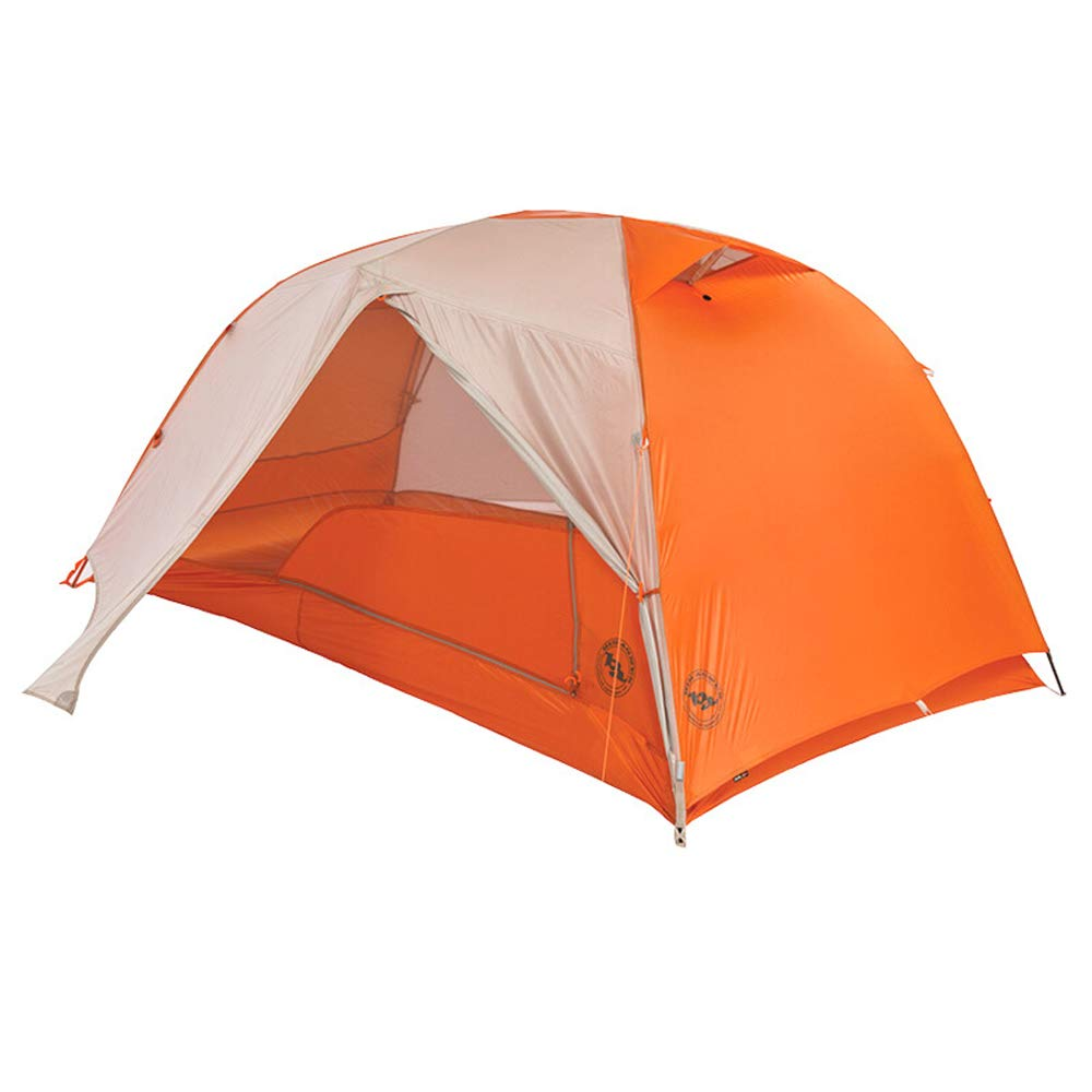 YONGMEI Zelt - Outdoor Adventure Campingzelt - Orange - 2 Personen Sport im Freien