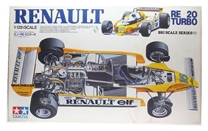 Tamiya 1/12 Renault RE-20 Turbo (1/12 Big Scale Car