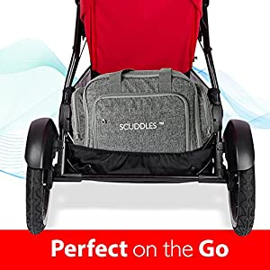 3 in 1 Portable Foldable Bassinet Travel Bed for Baby Functions As Both A Bassinet and Diaper Bag Changing Station