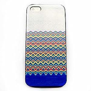 GDW caso duro del patrón azteca para el iphone 5 / 5s