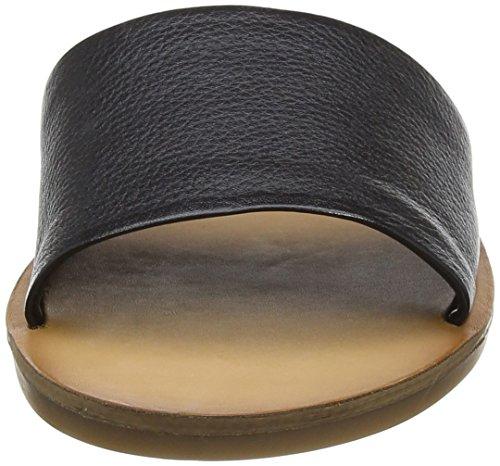 Aldo Brittny, Sandalias con Cuña para Mujer Negro (97 Black Leather)