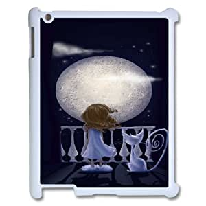 Good Night Moon Pattern Hard Snap Cell Phone Case for Ipad 2,3,4 CaseTSL325265