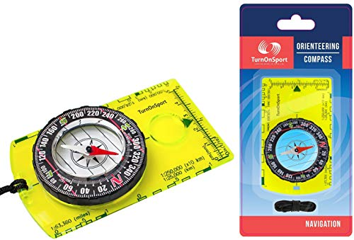 Boy Scout Compass (Orienteering Compass - Hiking Backpacking Compass - Advanced Scout Compass for Camping and Navigation - Boy Scout Compass for Kids - Professional Field Compass for Map Reading - Best Survival)
