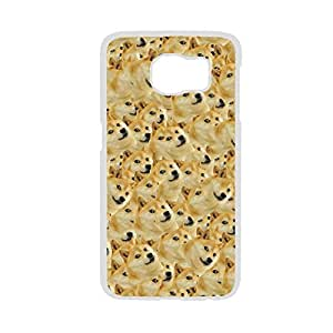 Generic For S6 Edge Samsung Quality Plastic Phone Shells Women Print With Doge