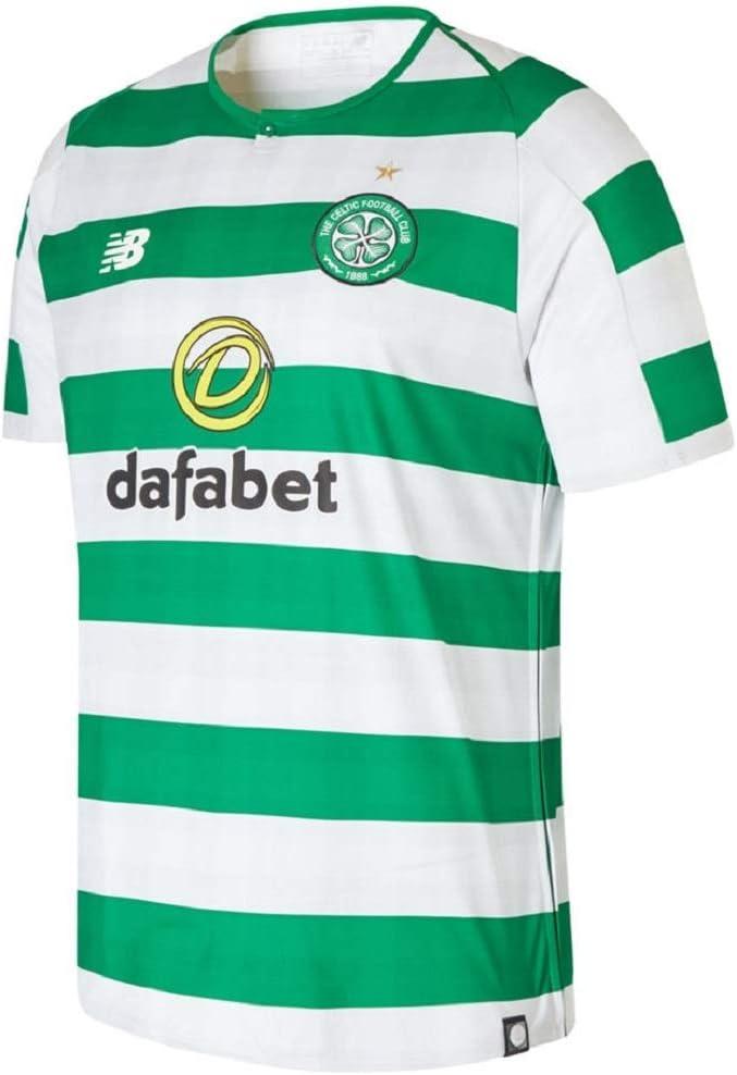 New Balance Men's Celtic Football Short Sleeve Jersey