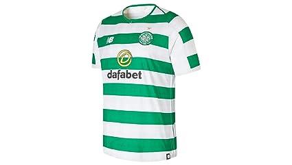New Balance Hombres del Celtic FC Seguidores Jersey  Amazon.es ... 90edc4c3ec113