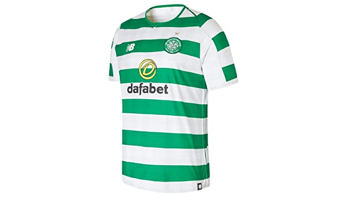New Balance Celtic FC Home - Camiseta de Manga Corta para Hombre ...