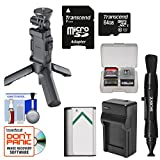 Sony VCT-STG1 Shooting Grip & Mini Tripod for AS50, AS200V, AS300, X1000V, X3000 Action Cams with 64GB Card + NP-BX1 Battery & Charger + Kit