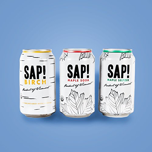 Sap! Shark Tank Special - Mixed Sampler Pack of 12- Limited Quantity - USDA Organic Gluten Free Non-GMO - Delicious alternative with low calories - low glycemic and contains electrolytes