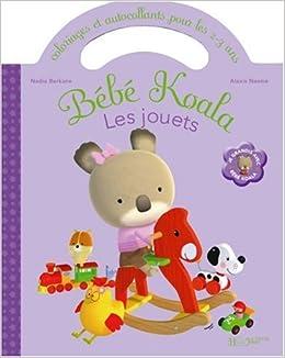 Les Jouets Coloriages Et Autocollants Bebe Koala
