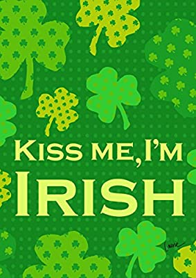 Toland Home Garden Irish Kiss 28 x 40 Inch Decorative St