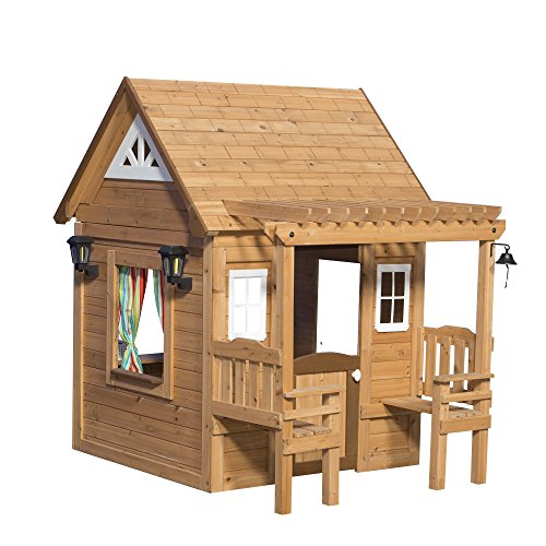 outdoor wooden playhouse - 5