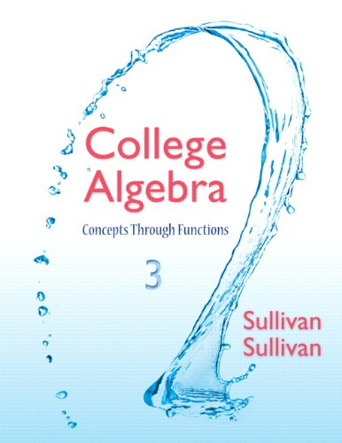 College Alg.:Conc.Through Func W/Access