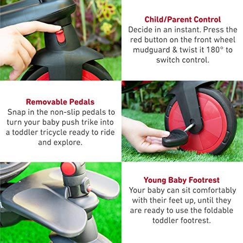 smarTrike- STR7 STR7J-Triciclo para niños, Color rojo (5502202)