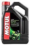 Motul 104068 5100 10W-40 4T Synthetic Blend Engine Oil, 4-Liters