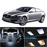 cciyu LED Bulb LED Interior Lights 10pcs White Package Kit Accessories Replacement for Jaguar XF 2009-2015