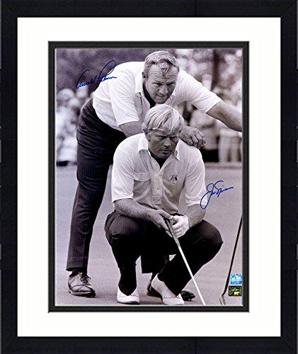 - Framed Jack Nicklaus & Arnold Palmer Autographed 16
