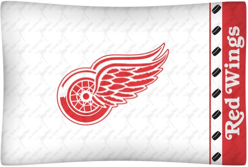 Detroit Red Wings Pillow - NHL Detroit Red Wings Micro Fiber Pillow Case Logo