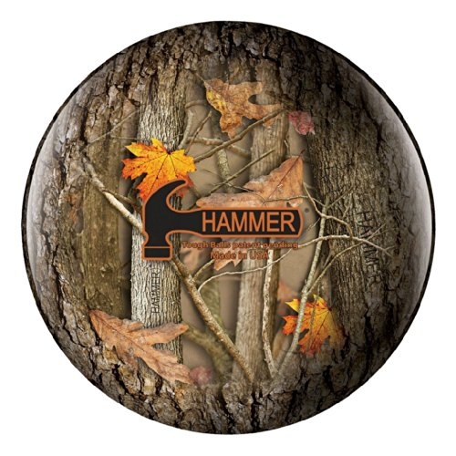 Hammer Tough Hammerflage Bowling Ball- Camo (8lbs) by Hammer