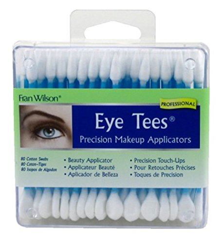 Fran Wilson Eye Tees Cotton Tips 80 Count (2 Pack) ()