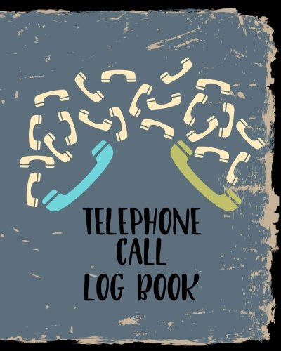 Telephone Call Log Book: Telephone Message Tracker (Voice Mail Memos)(V1)