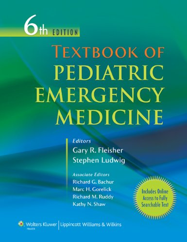 Emergency Paediatric Medicine (Textbook of Pediatric Emergency Medicine (Textbook of Pediatric Medicine (Fleisher)))