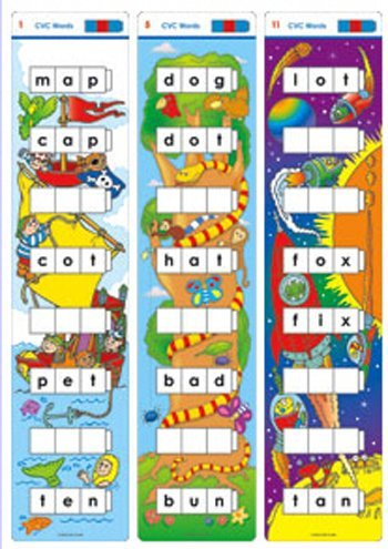 Didax Educational Resources CVC Word Ladder Activity Card Set by Didax Educational Resources