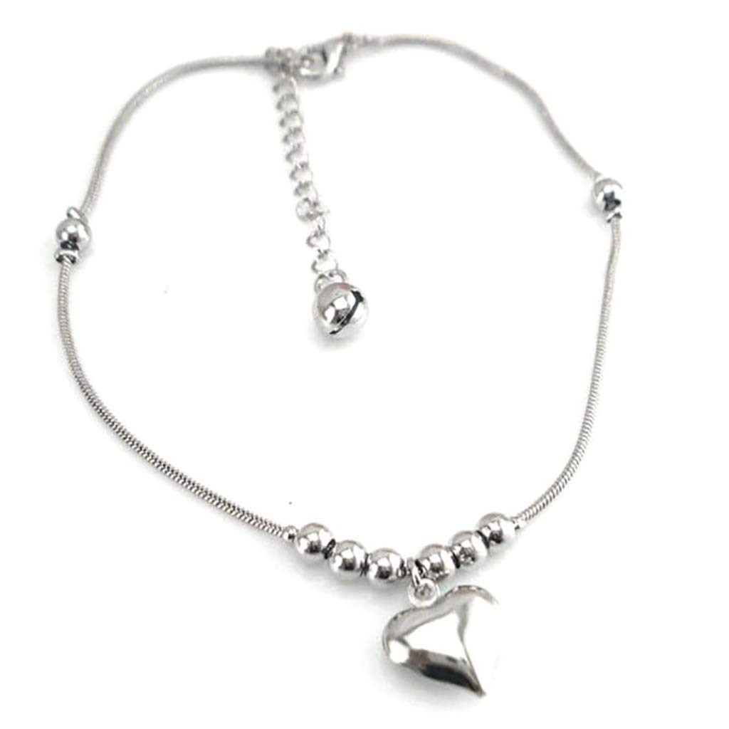 Liraly New Anklet Bracelet for Women Heart Chain Jewelry Girls Anklets 2019