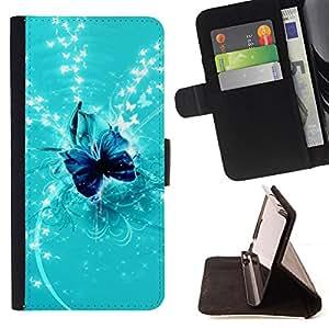 - Nature Fish Friends - - Monedero PU titular de la tarjeta de cr????dito de cuero cubierta de la caja de la bolsa FOR Samsung Galaxy S3 Mini I8190Samsung Galaxy S3 Mini I8190 RetroCandy