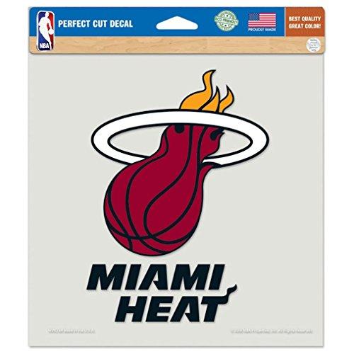 NBA Miami Heat Die-Cut Color Decal, 8
