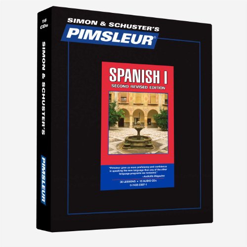 Pimsleur Spanish Level 1 CD: Learn to Speak and Understand Latin American...