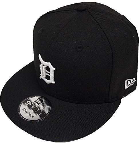 New Era Detroit Tigers Black White Logo Snapback Cap 9fifty Limited Edition