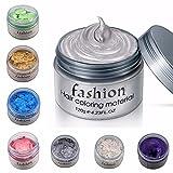 Hunputa 7 Colors Unisex DIY Hair Color Wax Mud Dye Cream Temporary Modeling (7pcs)