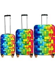 ATM Luggage 3-D 3-Piece Set