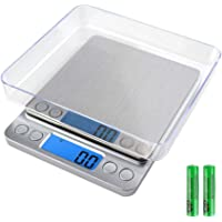 Digital Kitchen Scale,Precision 0.01oz Food Scales for Weight Loss,Mini Pocket Gram Scale for Cooking,Baking,Meat,Coffee…
