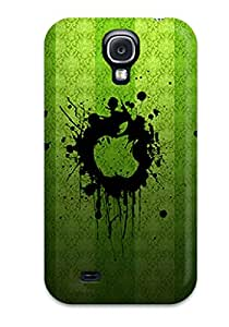 Series Skin Case Cover For Galaxy S4(green Apples)