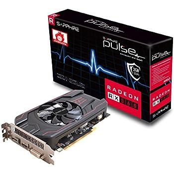 Sapphire Sapphire Radeon PULSE RX 560 2GB GDDR5 HDMI / DVI-D / DP OC (UEFI) PCI-E Graphics Card Graphic Cards 11267-02-20G
