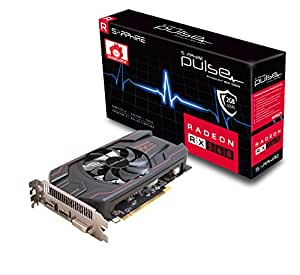 Sapphire Sapphire Radeon PULSE RX 560 2GB GDDR5 HDMI / DVI-D / DP OC (UEFI) PCI-E Graphics Card Graphic Cards 11267-02-20G